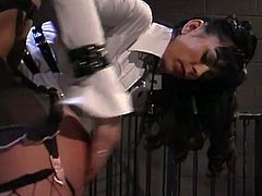 This short haired brunette accepts being an obedient slut for her mistress