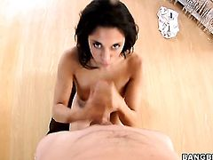 A blow job and a sexy massage