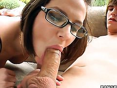 Bobbi Starr fucks a young dude