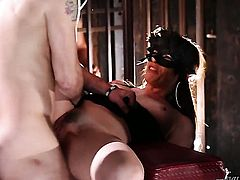 Alec Knight is one hard-dicked dude who loves banging Nasty tramp Alice Frost in her anal hole
