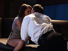 Tori Black gives unthinkable deep throat job hard cocked guy
