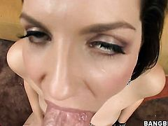 Blonde Bobbi Starr is a cumshot addict and heres the proof