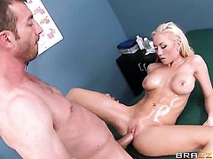 Madison Scott with massive hooters loves to fuck and cant say No to her hot bang buddy Jordan Ash