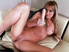 Angela Sommers shows her love for stripping on camera