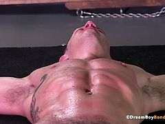 Bryan Cole BDSM Electrocution Brutal Whipping Muscle Stud