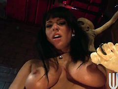 Kitty Bella is never enough and takes guys rock hard schlong in her mouth over and over again