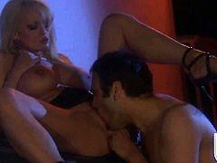 Mouth-watering wench Stormy Daniels is a facial cum slut