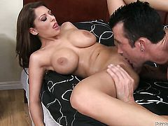 Alison Star shows hardcore tricks to horny dude with passion and desire