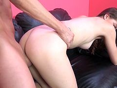 Horny Teen Haley Banks Gets Pleasure From an Elderly Man and a Vibrator.
