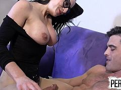 Crazy Tease Hand Job With Cleo And Lance Hart