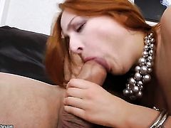 Redhead cant stop playing with her ass
