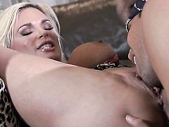 Diamond Foxxx getting throat pounded for your viewing entertainment