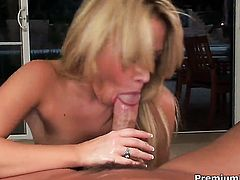 Sindee Jennings is in the mood for fucking and gives it to horny fuck buddy