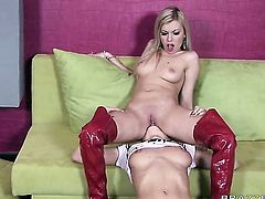 Donna Bell  Alice Miller proves that she takes dick in the ass way like no other