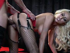 Breanne Benson enjoys another great cumshot session
