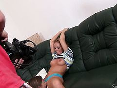 Silvia Saint and Eufrat Mai satisfy their sexual needs together in lesbian action