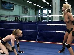 Blonde Bianka Lovely and Gitta Blond have a lot of sexual energy to spend in lesbian action