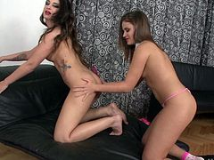 Tormenting collage student engaging in a steamy ass fucking
