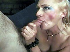 rich bitch gets her some young stuff @ mature kink