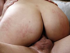 Arab slut deepthroats and rides her master's hard cock