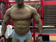 bodybuilder big bulge