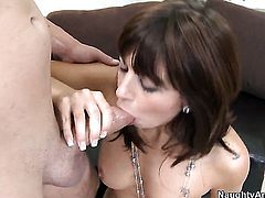 Mila Beth wants sex desperately and gets it from Will Powers