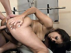 Anjanette Astoria is one hot cock sucker that loves David Losos love torpedo so much