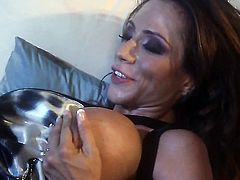 Ariella Ferrera gets the mouth fuck of her dreams with horny bang buddy