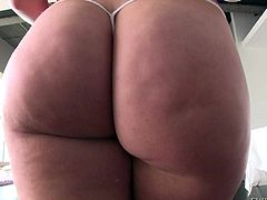 Watch sex-hardcore movie with Lola Foxx and her big bottom. This lickerish insatiable bitch is ready for all and likes to make ecxellent deepthroat blowjob before getting hard anal adventure
