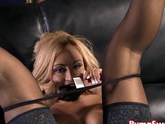 Puma Swede Interrupts Claudia to Cum!