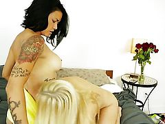 Ashley Fires with massive tits spends her sexual energy with lesbian Dana Vespoli