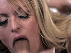 Stormy Daniels makes a dream of never-ending cock sucking a reality