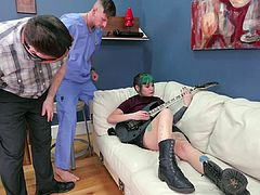 20 year-old punk bitch gets rough anal punishment