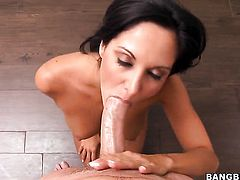 Ava Addams wants this tugjob session to last forever
