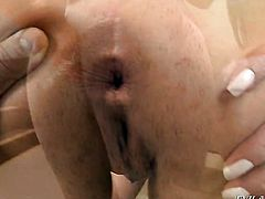 Latin Agatha Moreno has dick-hungry love hole and takes Jazz Duros meat pole
