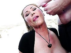 With juicy breasts and Jonni Darkko enjoy oral sex they will never forget