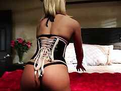 Ash Hollywood makes her dirty dreams a come true with dudes schlong deep down her throat