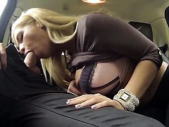 Bibi Noel takes dream cumshot
