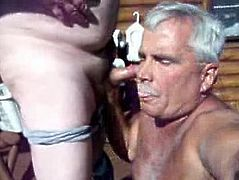 Silver daddy blowjob 4