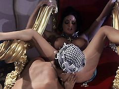 Tory Lane gets her mouth fucked good and hard