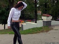 maria russian teen in spandex