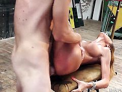Alice Romain just feels intense sexual desire and fucks with Danny D like crazy in anal scene