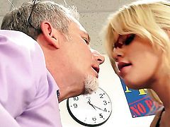 Riley Steele believes that fresh cum gives her sexual energy to spend