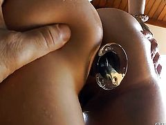 Ashley Fires gets pumped in her wet hole by John Stagliano