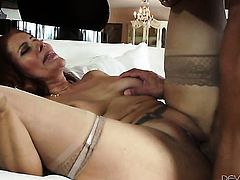 Nicky Ferrari with massive knockers makes her dirty dreams a come true with Marco Banderass meat sti