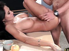 Ava Addams fucks in the school