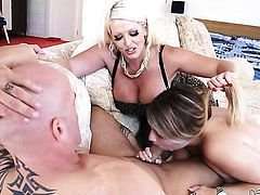 Derrick Pierce has a good time banging unthinkably hot Alura Jensons mouth