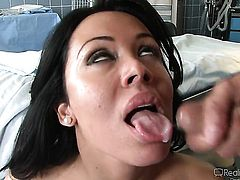 Alec Knight cant resist dangerously seductive Carolyn Reeses acttraction and fucks her like theres no tomorrow