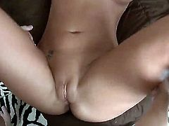 Phoenix Marie is tired from waiting for her husband to come home and fuck her huge ass. So she gets her friend to do it instead of him.