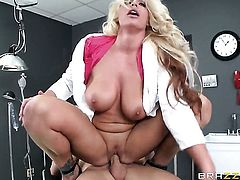 Johnny Sins penetrates his doctor
